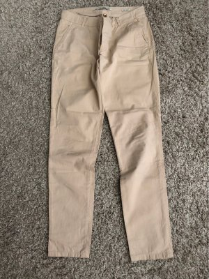 Zara Woman Pantalon cargo beige-chameau