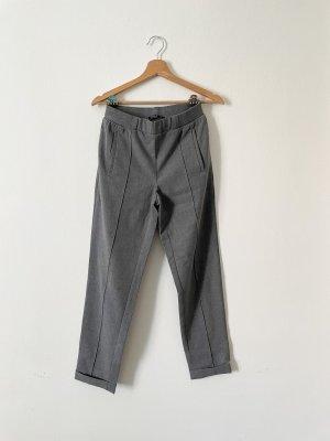 Zara Pantalon capri gris
