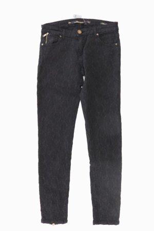 Zara Spodnie czarny Bawełna