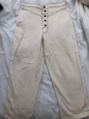Zara Baggy Pants natural white