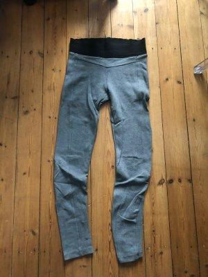 Zara Leggings grigio-grigio chiaro