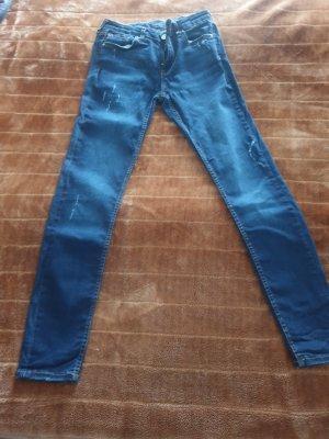 Zara Basic Regenpijpbroek blauw