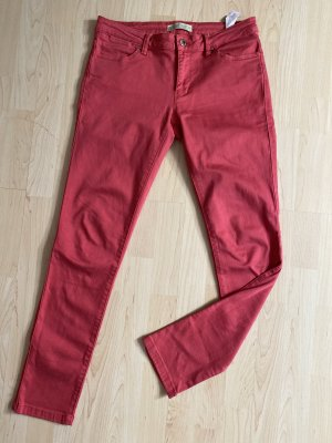 Zara Hose Jeans rot Gr.40 Damen stretch top Z1975 Denim