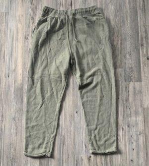Zara Joggingbroek grijs-groen-groen-grijs