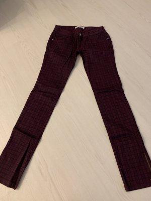 Zara Trafaluc pantalón de cintura baja lila