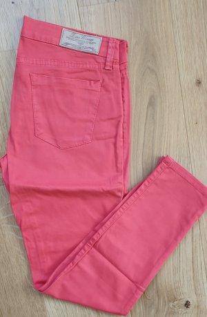 Zara Woman 7/8 Length Trousers red