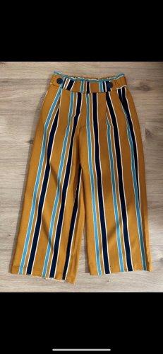 Zara Falda pantalón de pernera ancha multicolor