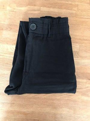 Zara Pantalón de lino negro