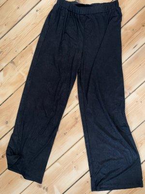 Zara Pantalón de cintura alta negro
