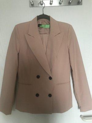 Zara Basic Trouser Suit dusky pink