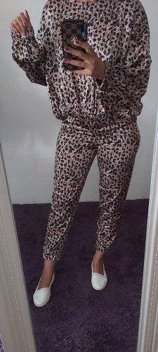 Zara Tailleur-pantalon noir-beige
