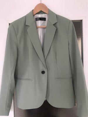Zara Traje de pantalón verde claro
