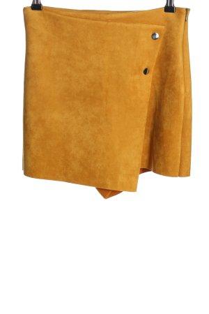 Zara Culotte Skirt light orange casual look