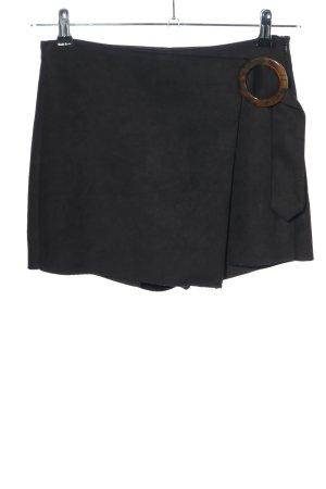 Zara Culotte Skirt black casual look