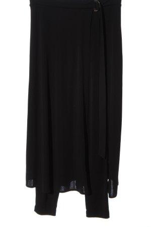 Zara Falda pantalón negro look casual