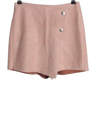 Zara Falda pantalón rosa look casual