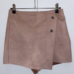 Zara Gonna culotte rosa antico