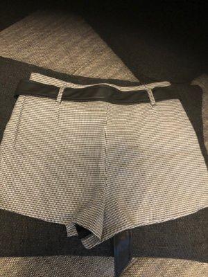 Zara Trafaluc Culotte Skirt black-white