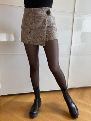 Zara Hosenrock Schlangenmuster