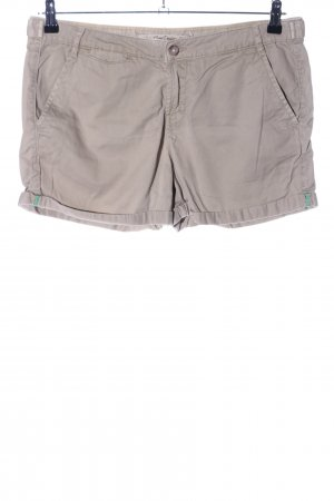 Zara Hot Pants hellgrau Casual-Look