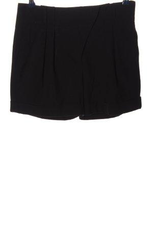 Zara Krótkie szorty czarny W stylu casual