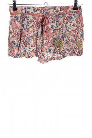 Zara Hot Pants abstraktes Muster Casual-Look