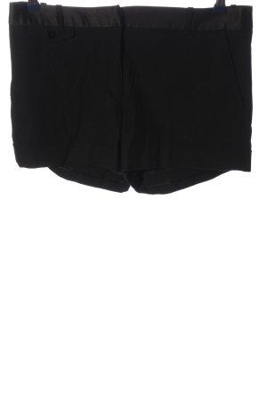 Zara Hot Pants schwarz Business-Look