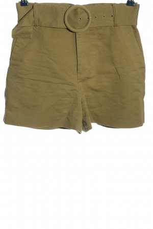 Zara Hot Pants khaki Casual-Look