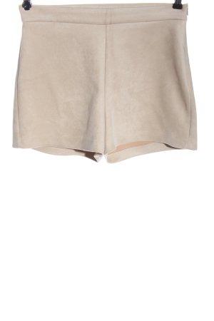 Zara Hot Pants wollweiß Casual-Look