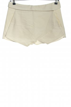 Zara Hot Pants wollweiß Casual-Look