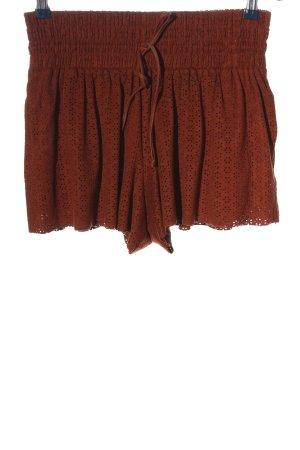 Zara Hot Pants rot Casual-Look