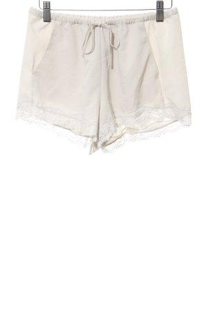 Zara Hot Pants hellbeige Casual-Look