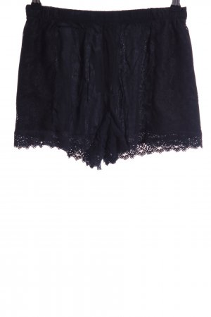 Zara Hot Pants schwarz Casual-Look
