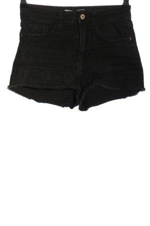 Zara Hot Pants schwarz Casual-Look