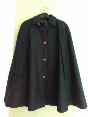 Zara Cape noir laine