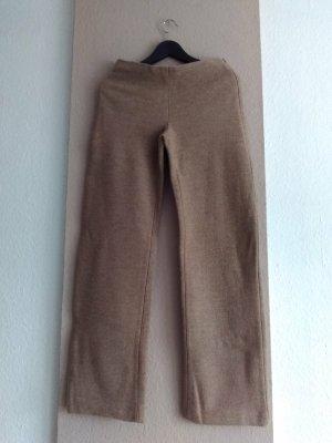 Zara Woolen Trousers light brown wool