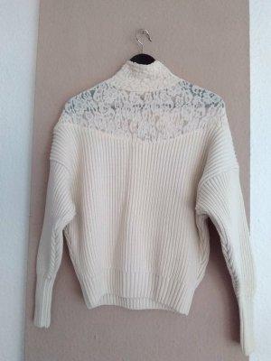 Zara hübscher kombinierter Pullover, Grösse M oversize, neu