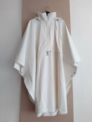 Zara Manteau de pluie blanc cassé laine