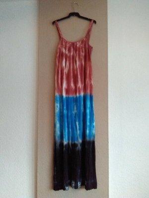 Zara hübsches feingestricktes Midi-Trägerkleid in Tei-Dye, Grösse M, neu