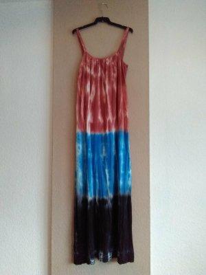 Zara hübsches feingestricktes Midi-Trägerkleid in Tie-Dye, Grösse S, neu