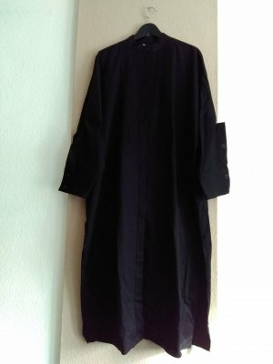 Zara Koszulowa sukienka czarny Bawełna
