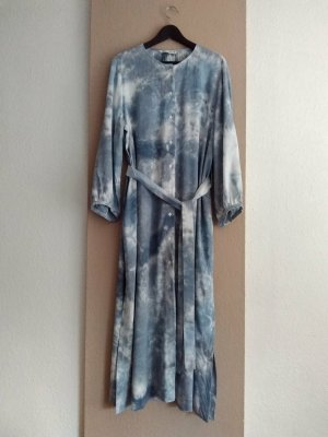 Zara hübsches Hemdblusenkleid aus Viskose und Leinen, Tie-Dye, Grösse XL, neu