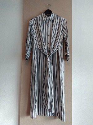 Zara hübsches Hemdblusenkleid mit Knoten-Detail, Größe S oversize, neu