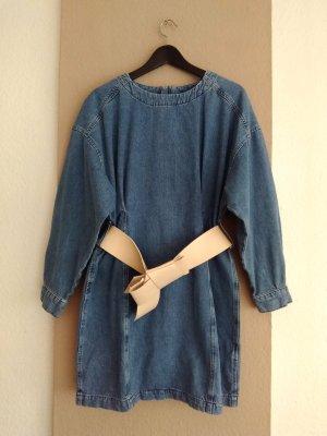 Zara hübsches Jeanskleid mit Gürtel, Grösse M, neu