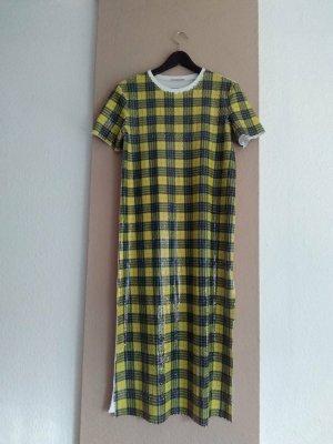 Zara hübsches kobiniertes T-Shirt-Kleid mit Pailletten, Größe S oversize