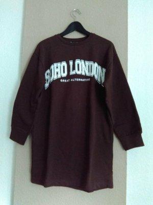 Zara hübsches Sweatshirt-Kleid aus 96% Baumwolle, Grösse S, neu