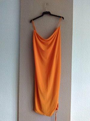 Zara hübsches Trägerkleid in orange, Größe M, neu
