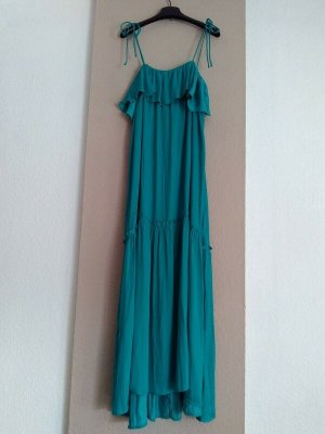 Zara hübsches Trägerkleid in türkis, Grösse M, neu