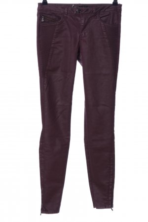 Zara Low-Rise Trousers lilac casual look