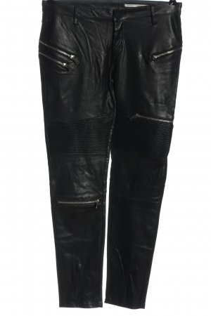 Zara Hüfthose schwarz Casual-Look